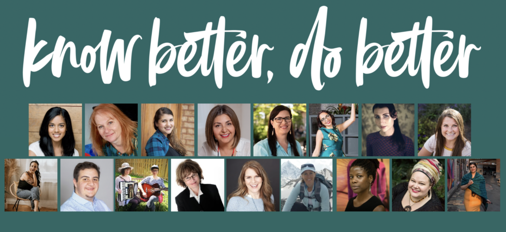 Collage of Know Better, Do Better speakers